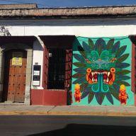 Oaxaca graffiti